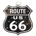 """Autocollant Route 66 """"Balles"""""""