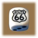 Dé à jouer Route 66