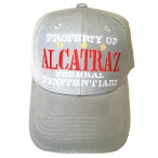 Casquette Alcatraz gris clair