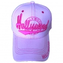 "Casquette Los Angeles ""Hollywood"" rose"