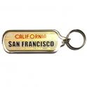 Porte Clé San Francisco plastique