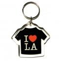"""Porte Clé Los Angeles """"I Love LA"""" plastique"""