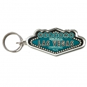 "Porte Clé ""Welcome to Fabulous Las Vegas"" turquoise"