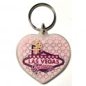 """Porte Clé Las Vegas """"Coeur"""""""