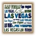 Sous-Verres Las Vegas blanc