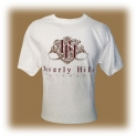 T-Shirt Beverly Hills blanc