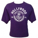 T-Shirt Hollywood mauve