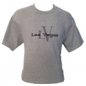 T-Shirt Las Vegas gris