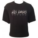 T-Shirt Las Vegas noir brodé