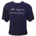 T-Shirt Las Vegas bleu nuit brodé