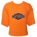"""T-Shirt Las Vegas orange """"Harley Davidson"""""""