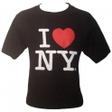 "T-Shirt ""I Love New York"" noir"