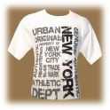 "T-Shirt New York City ""Urban Style"" blanc"