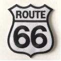 Etiquette à bagage Route 66
