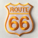 Patch Route 66 noir/blanc
