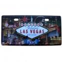 "Plaque Métallique Las Vegas ""Casinos"""