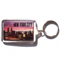 "Porte Clé New York ""Skyline"" plastique"