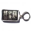 """Porte Clé New York """"Triptyque"""" plastique"""