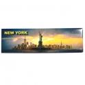 """Magnet New York """"Gold Line"""" Statue de la Liberté"""