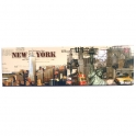 "Magnet New York ""Horizontal"" Monuments Divers"