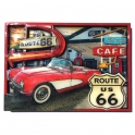 "Magnet Route 66 ""Hackberry"" en relief"