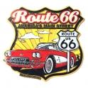 """Magnet Route 66 """"Logo"""" jaune"""