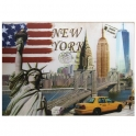 "Carte Postale New York ""3D"""
