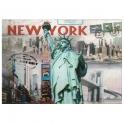 "Carte Postale New York ""3D"""