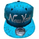 "Casquette New York ""Galaxy"" turquoise"