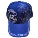 Casquette Arizona bleue