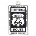 """Autocollant Route 66 """"Historic"""" noir"""