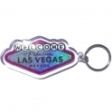 "Porte Clé ""Welcome to Fabulous Las Vegas"" rose"