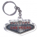 "Porte Clé ""Welcome to Fabulous Las Vegas"" argent"