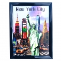"Magnet New York ""Tableau"" Monuments"