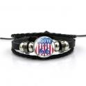 "Bracelet Route 66 ""USA Flag"""