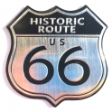 """Autocollant Route 66 """"Métal"""""""