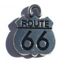"Pendentif Route 66 ""Logo"""