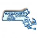 """Magnet USA """"Massachusetts"""""""