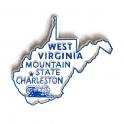 """Magnet USA """"Virginie de l'Ouest"""""""