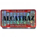 """Magnet San Francisco """"Alcatraz"""" plastique paillette"""