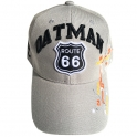 "Casquette Route 66 ""Oatman Map"" grise"