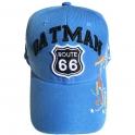 """Casquette Route 66 """"Oatman Map"""" bleu ciel"""