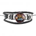 """Bracelet Route 66 """"Logo"""" Voiture"""
