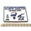 """Magnet USA """"Dakota du Nord"""" GIANT"""