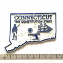 """Magnet USA """"Connecticut"""" GIANT"""