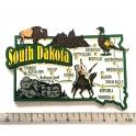 "Magnet USA ""Dakota du Sud"" JUMBO!"
