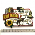 """Magnet USA """"Dakota du Nord"""" JUMBO!"""