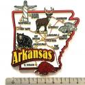 """Magnet USA """"Arkansas"""" JUMBO!"""