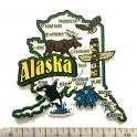 """Magnet USA """"Alaska"""" JUMBO!"""