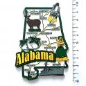 """Magnet USA """"Alabama"""" JUMBO!"""